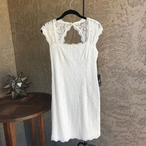 Ivory Lace Dress by Adrianna Papell